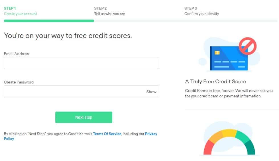 Credit Karma Sign Up
