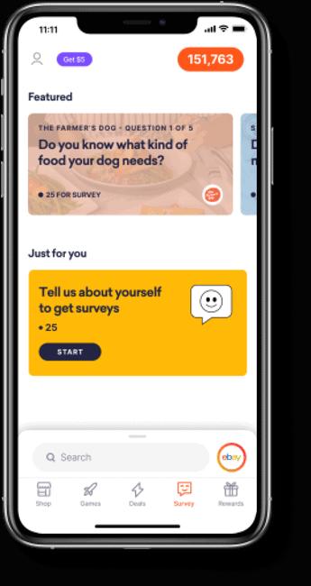 Drop app surveys