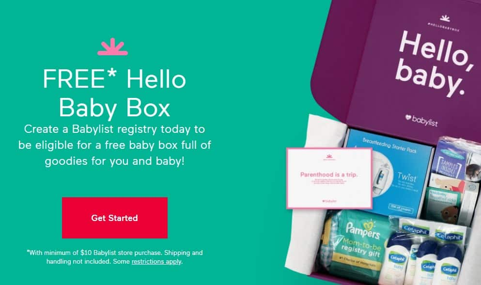 Babylist Free Baby Box