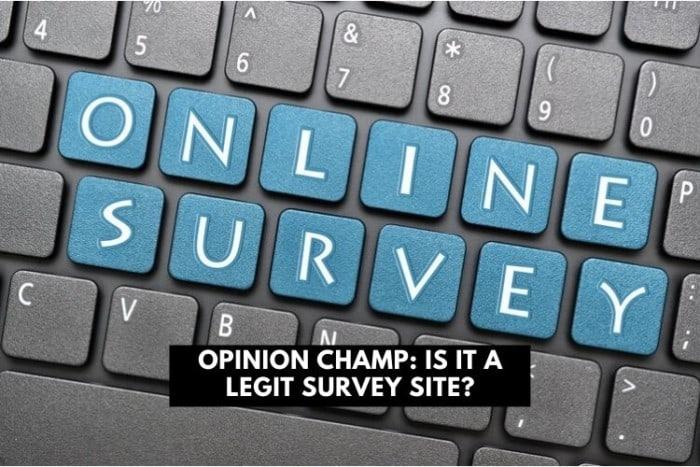 opinion champ - legit survey site